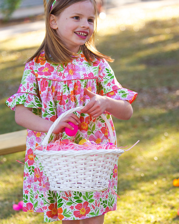 Bright Floral Savannah Dress