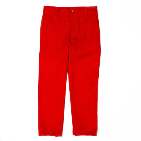 Classic Christmas Tucker Flat Front Pant
