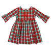 Christmas Plaid Mary Grace Dress