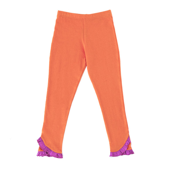 Orange Knit Reese Pant