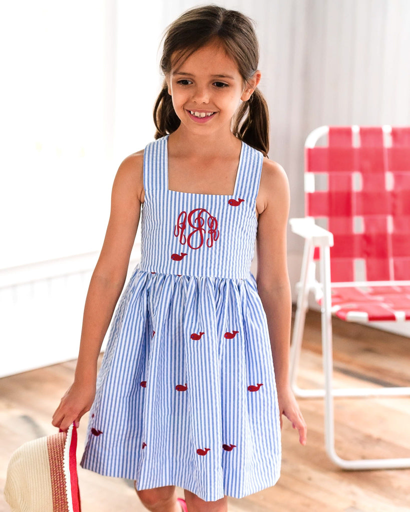 31c36bcc Whales and Watermelons Margaret Dress – Kelly's Kids
