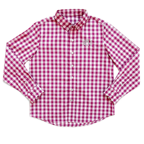 Berry Fall Classics Berry Check James Button Down