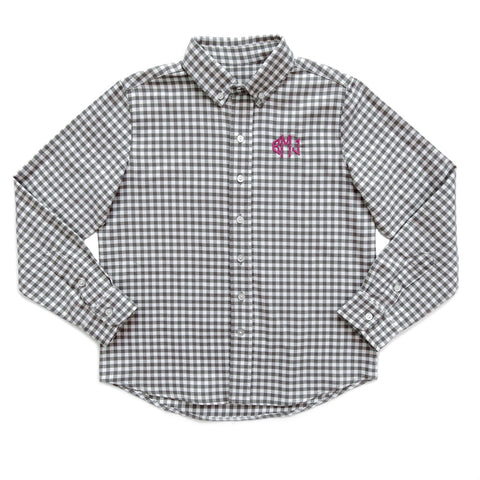 Berry Fall Classics Grey James Button Down