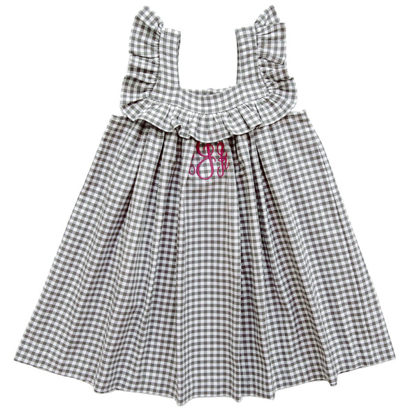 Berry Fall Classics Farrah Check Dress