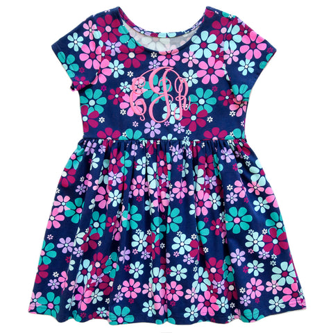 Playful All Knit Cora Floral Dress