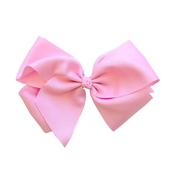Large Classic Pink Bow