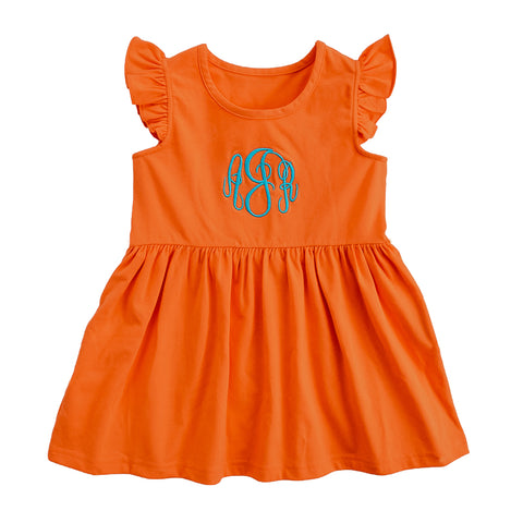 Orange Maddie Top