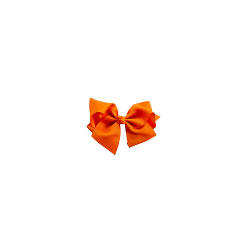 Medium Orange Classic Bow