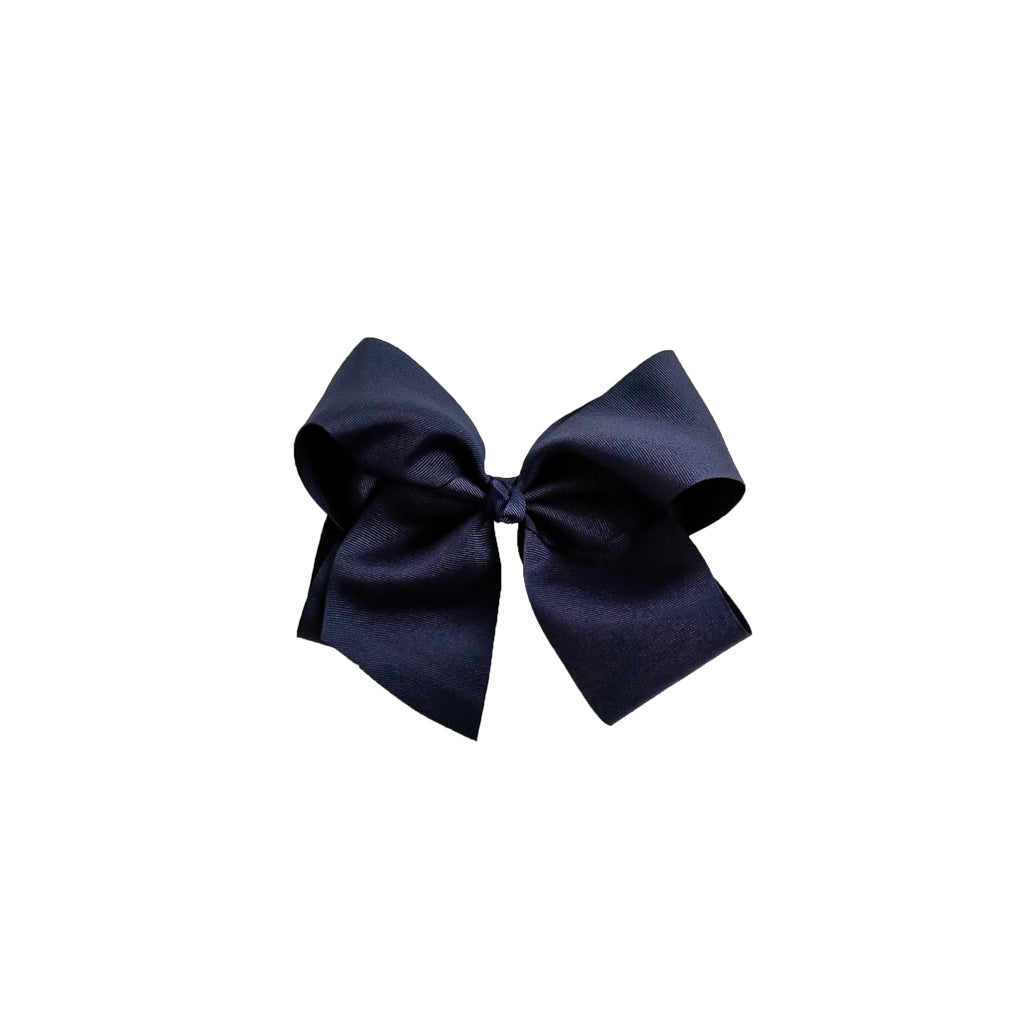 Large Navy Classic Bow