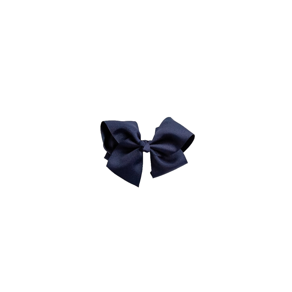 Medium Navy Classic Bow