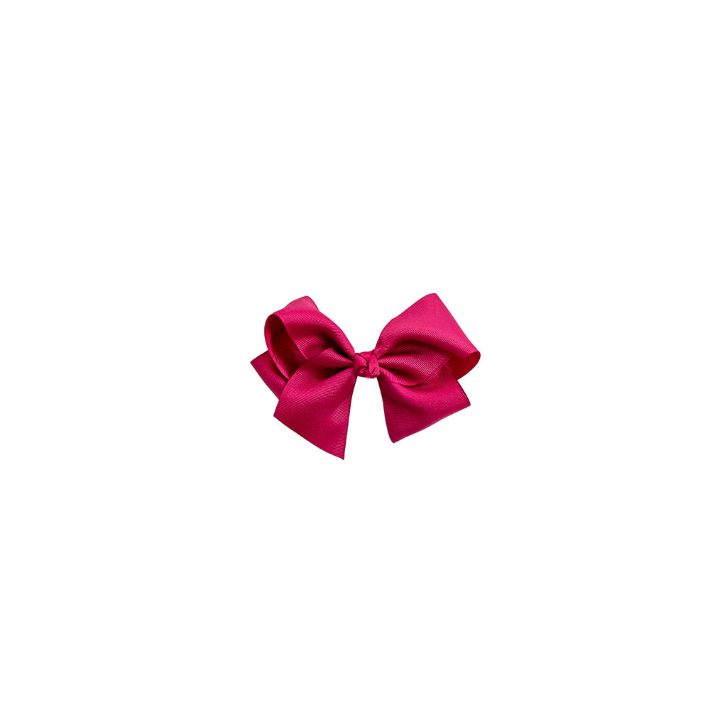 Medium Hot Pink Classic Bow