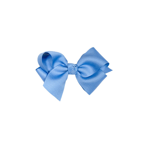 Spring Floral Small Blue Classic Bow