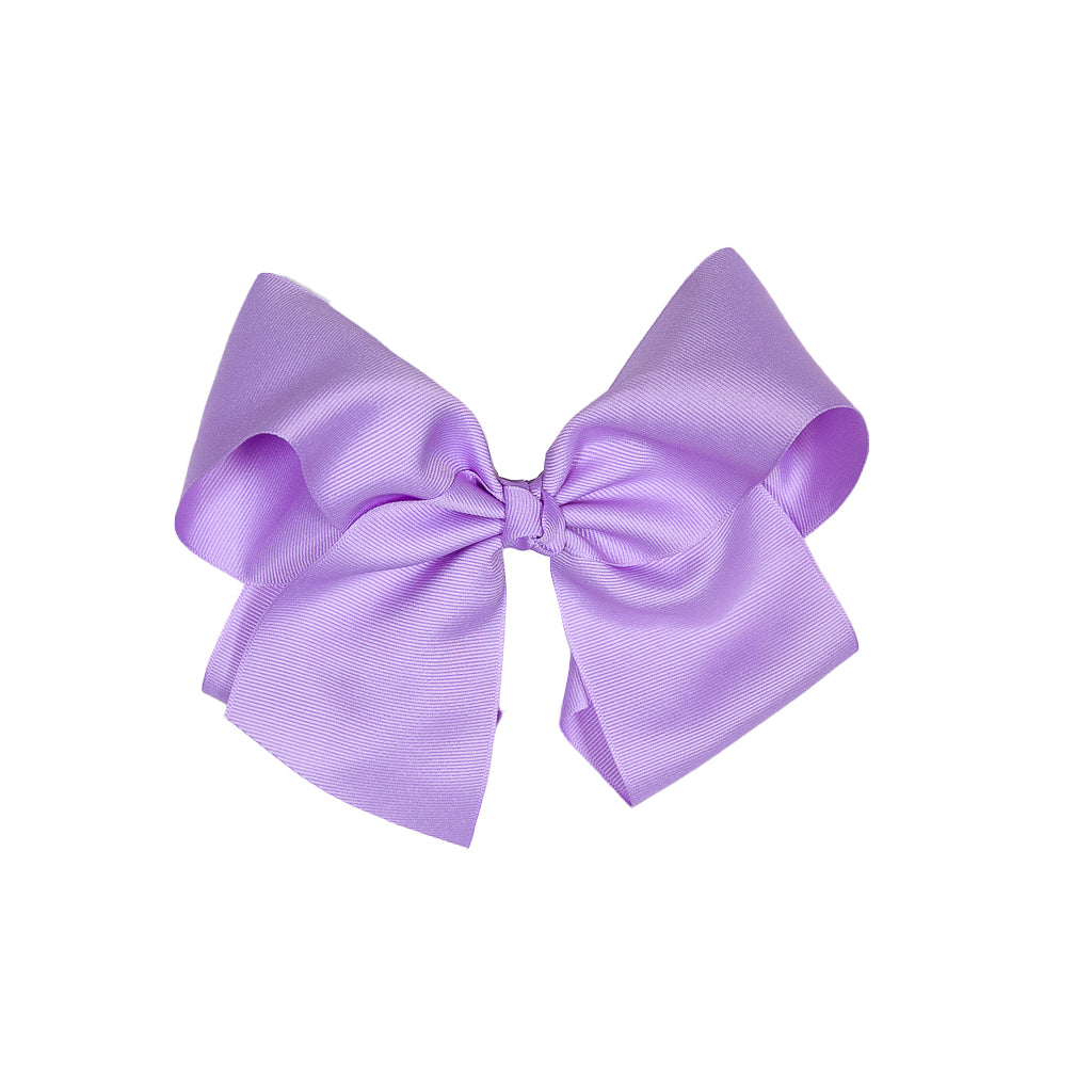 Derby Damask Large Lavender Classic Bow