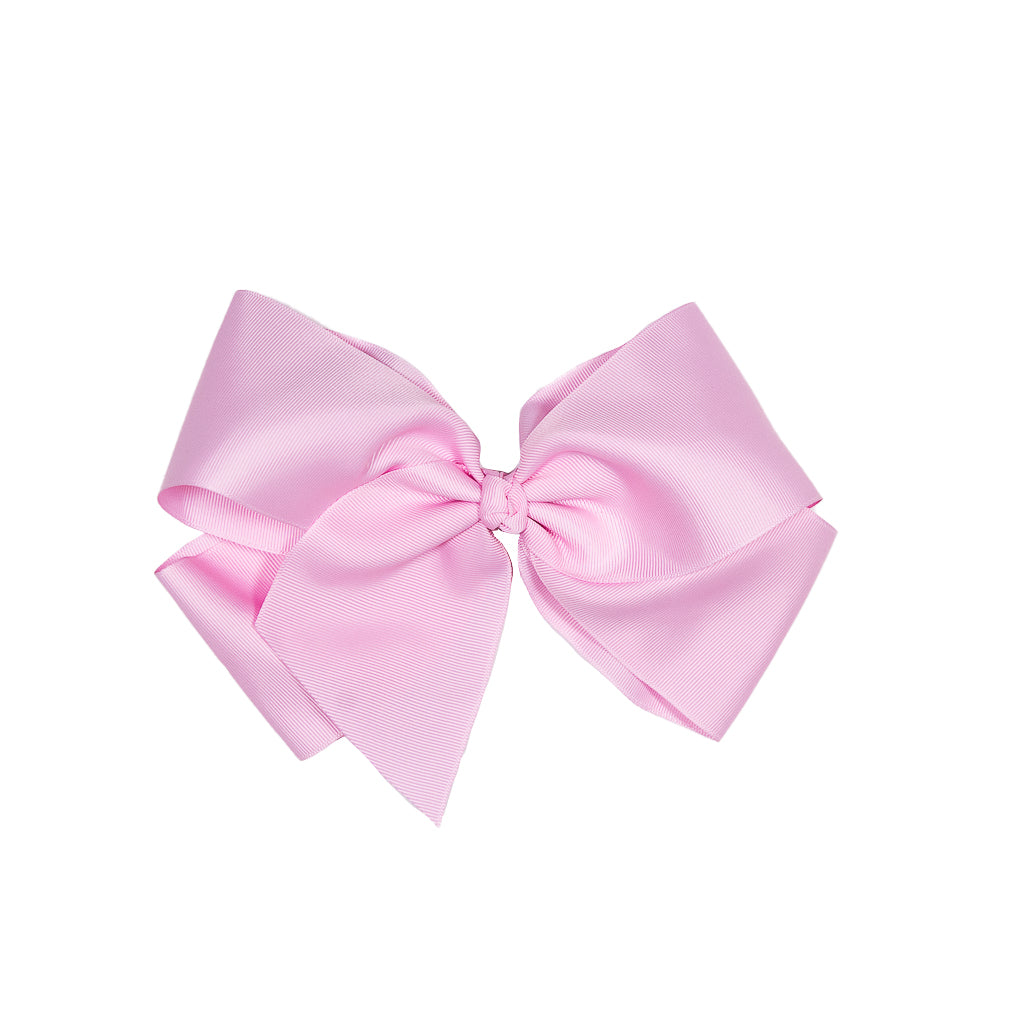 Rainbow Sherbert Large Pink Classic Bow