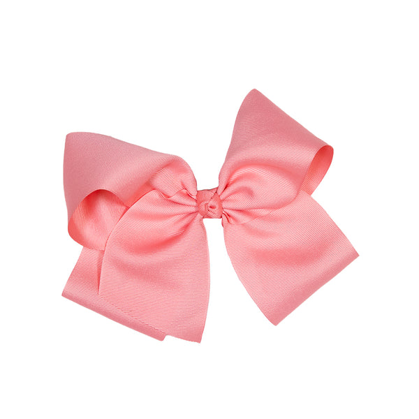 Country Club Coral Large Classic Bow