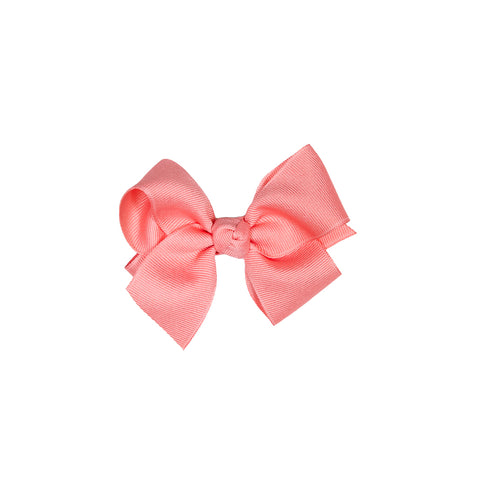Country Club Coral Small Classic Bow