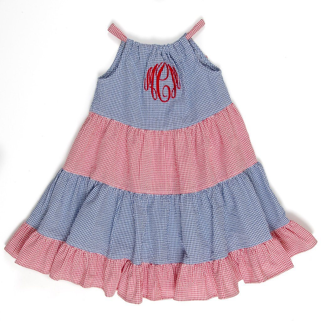 Patriotic Picnic Lexie Dress