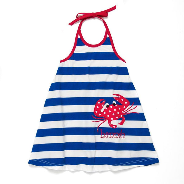 Patriotic Picnic Gia Halter Dress