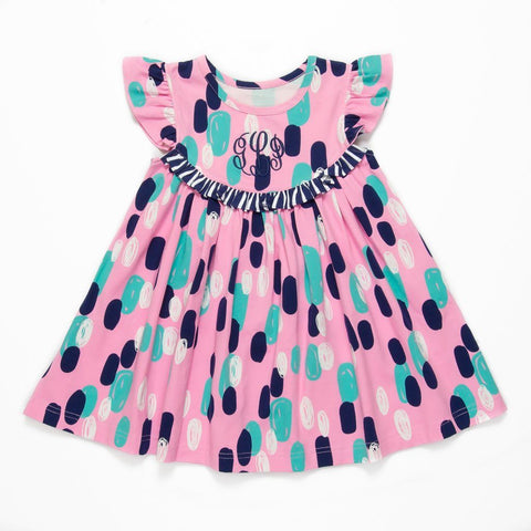 Thumbprint Lindsey Dress