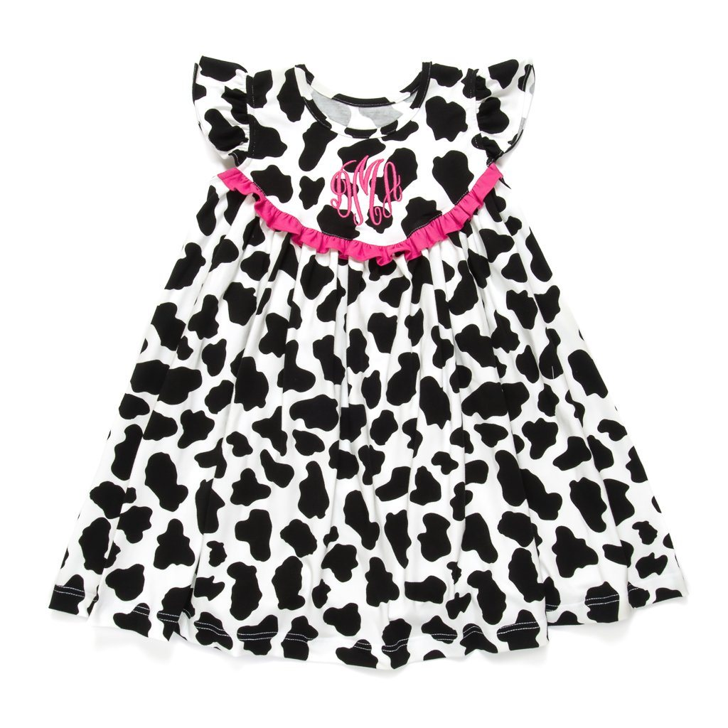 Crazy for Cows Lindsey Dress