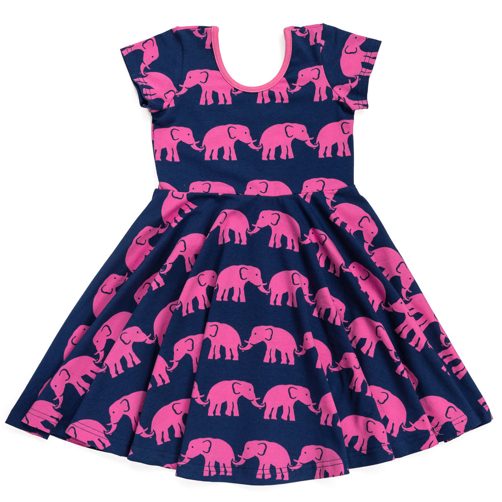 Elephants Annie Dress