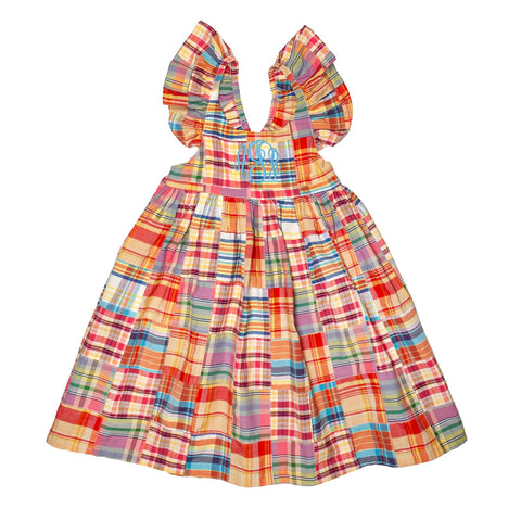 Preppy Patchwork Serena Dress