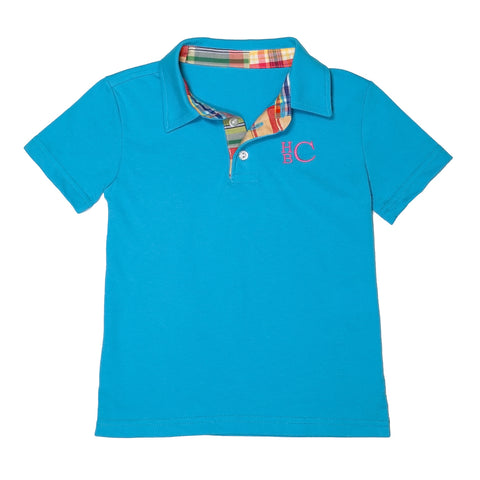 Preppy Patchwork Connor Polo