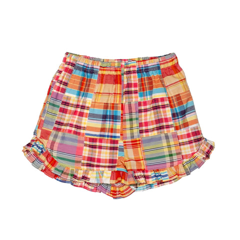 Preppy Patchwork Lulu Shorts