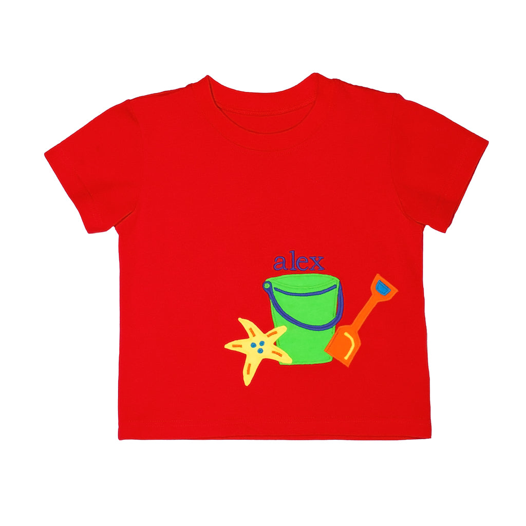 Strawberry Picnic Tyler Applique Tee