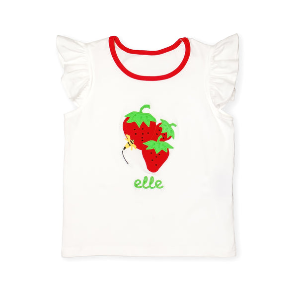 Strawberry Picnic Lynn Top