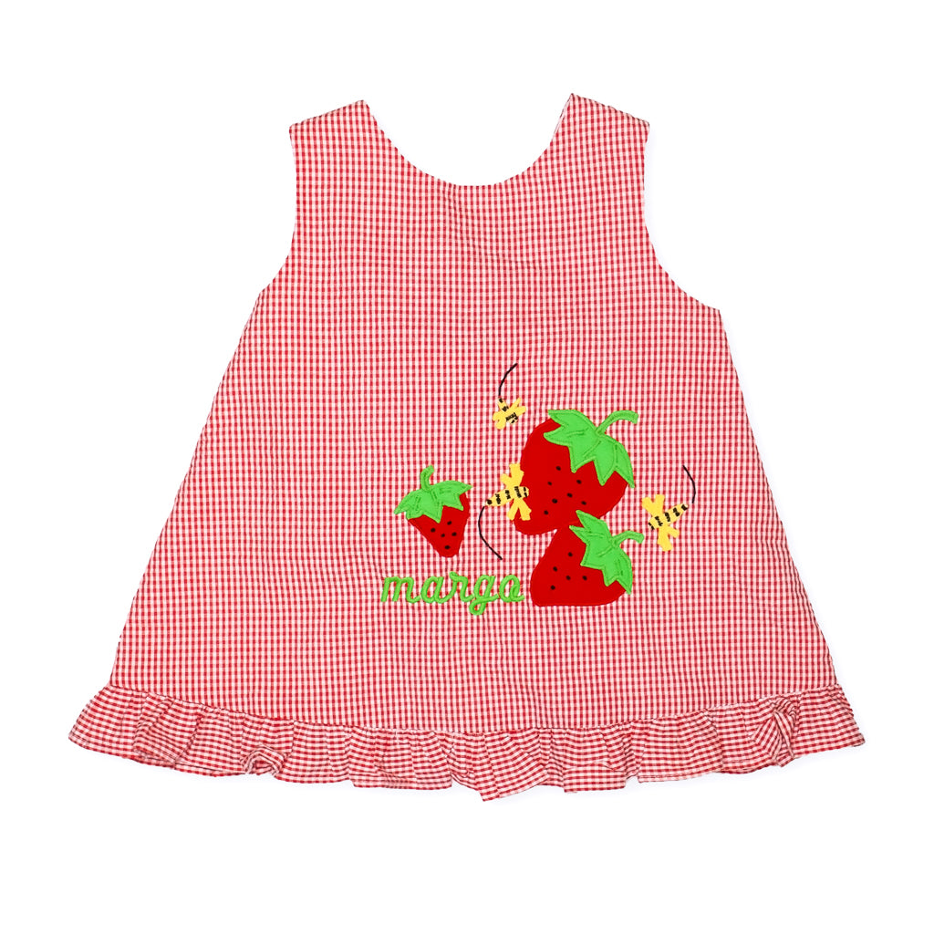 Strawberry Picnic Cindy Top