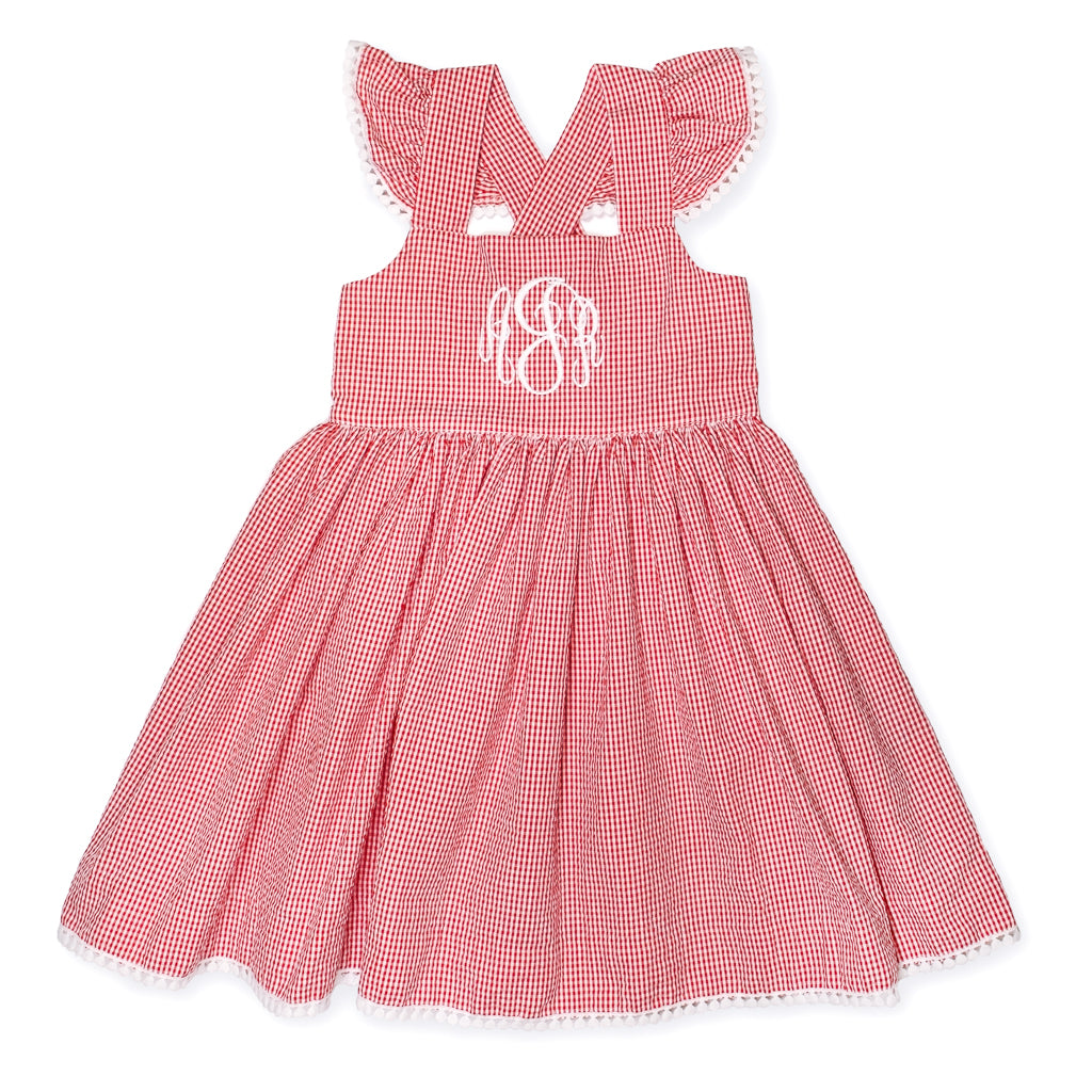 Strawberry Picnic Margaret Dress