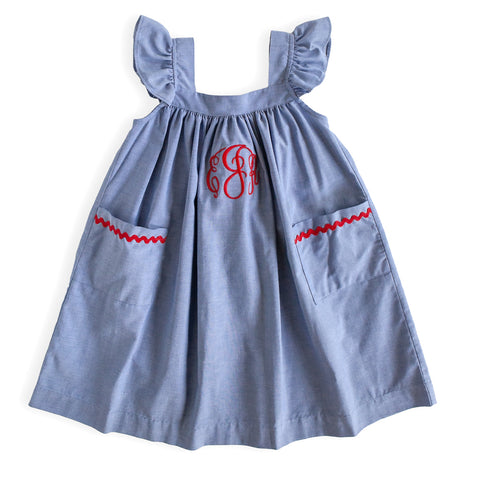 Chambray Lettie Dress