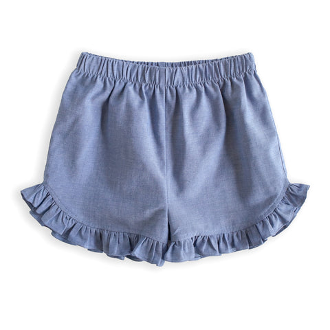 Chambray Lulu Shorts