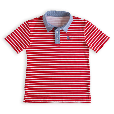 Stripe Connor Polo
