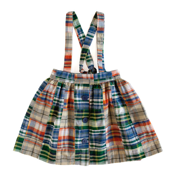 Patchwork Sydney Suspender Skirt