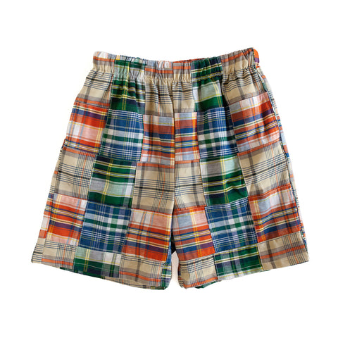 Patchwork Mason Short