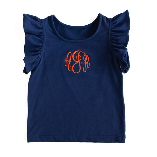 Navy Keara Top