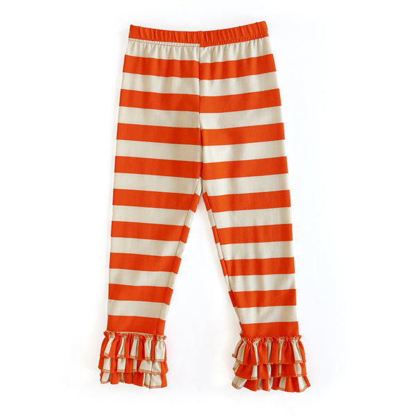 Orange Stripe Raven Pant
