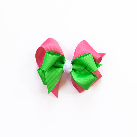 Flamingo Fun Small Bow