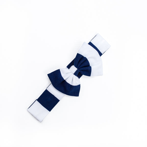 Navy Stripe Hope Headband