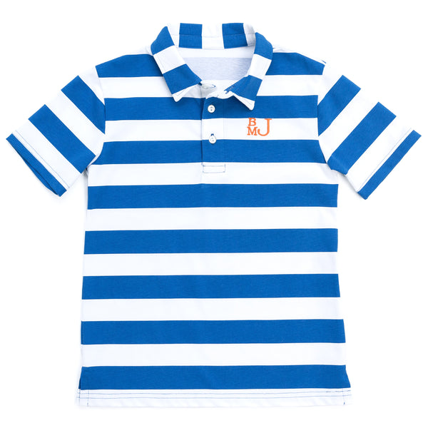 Blue Stripe Connor Polo