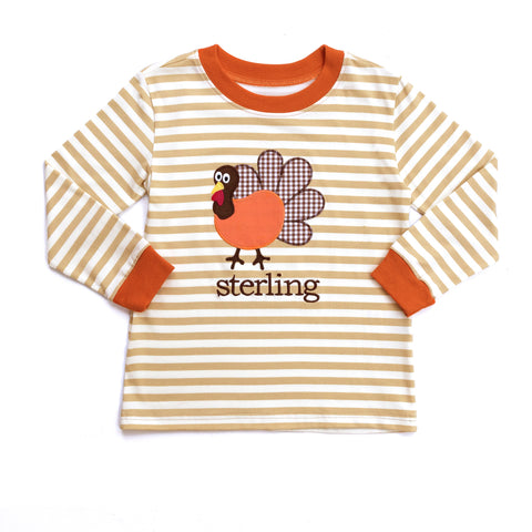 Turkey Applique Ryan Tee