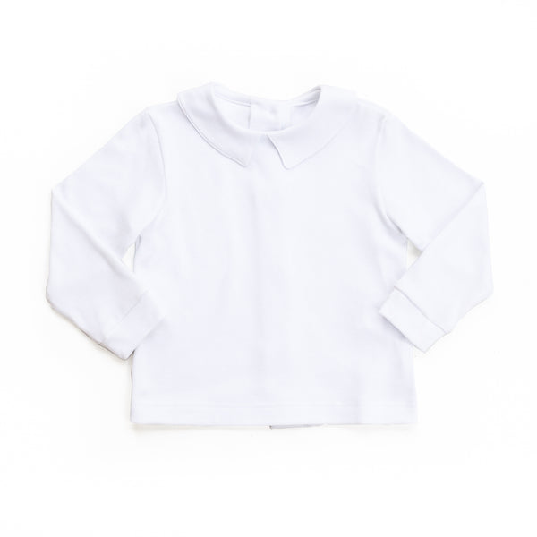 White Knit Adam Shirt