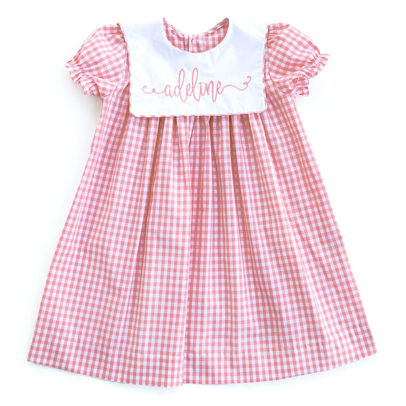 Pink Check Marley Dress
