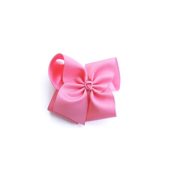 Large Pixie Pink Classic Bow