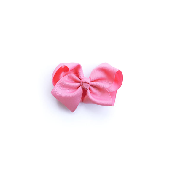Medium Pixie Pink Classic Bow