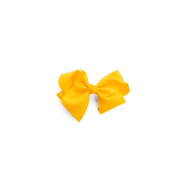 Medium Yellow Classic Bow