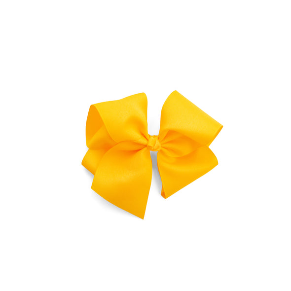 Large Yellow Classic Bow