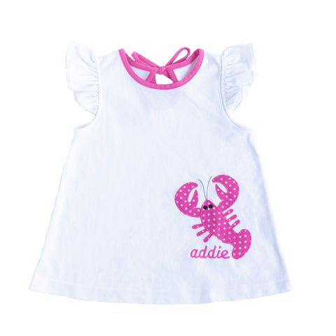 Lobster Applique Lori Top